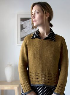 Ravelry: Maple Ripple Pullover pattern by Megan Goodacre