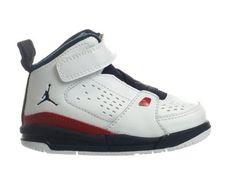 Jordan SC-2 (TD) Baby Toddler Shoes White/Obsidian/Gym Red Jordan. $44.95