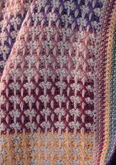 Crocheted Blankets On Pinterest Afghans Baby Blankets