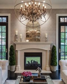 """Such a gorge shot of a beautiful home by Castlewood Custom Builders, via Houzz @castlewoodcustombuilders"""