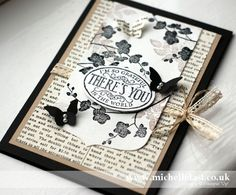 World of Dreams stamp set from Stampin' Up! - Stampin' Up! Demonstrator Michelle Last Card Making Inspiration, Making Ideas, Make Your Own Card, Beautiful Handmade Cards, Scrapbook Cards, Scrapbooking, Butterfly Cards, Card Tags, Paper Cards