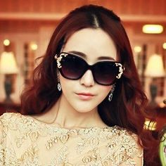 cool 2014 new lady sunglasses sunglasses with retro Baroque manufacturers selling glasses for men and women