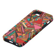 Tribal inspired pattern. Cute, trendy and beautiful protection for your electronics.