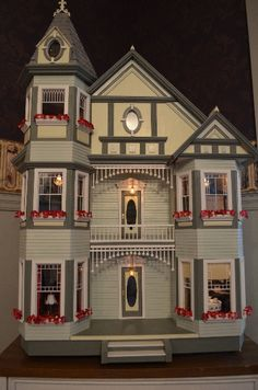 """""""Painted Lady"""" dollhouse"""