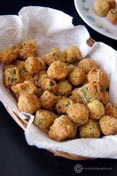 Southern Fried Okra Recipe Southern America loves to fry everything. From pickles to Oreos, we have a tradition of eating these fried foods. It really ins't a hudge leap to fry healthy vegetables. This makes them easier to eat. Southern Fried Okra Recipe is a perfect example of good old deep frying in the south. … Continue reading »