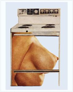 Hot Meat Kitchen Martha Rosler, from The Age of Collage Vol. Collages, Collage Art, Keiichi Tanaami, Matthieu Bourel, Atelier Photo, Whole Image, Feminist Art, Modern History, Japanese Artists