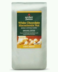 Archer Farms White Chocolate Macadamia Nut  L. Roast Ground Coffee (2-12oz Bags). Archer Farms White Chocolate Macadamia Nut Light Roast Ground Coffee (2-12oz Bags)