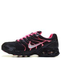 cheaper 6c43d 65e5d Nike Women s Air Max Torch 4 Running Shoes (Black Vivid Pink) Wide Feet