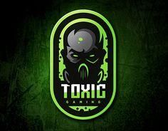 "Check out new work on my portfolio: ""toxic gaming Team Logo Design, Esports Logo, Professional Logo Design, How To Make Logo, Game Logo, Cool Logo, Logo Design Inspiration, A Team, Logo Branding"