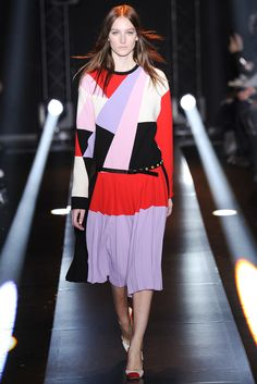 Fausto Puglisi Fall 2014 Ready-to-Wear Fashion Show - Josephine Le Tutour