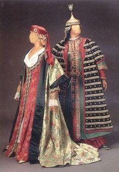 Osmanlı kostümleri:
