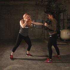 Move #1: Straight punch https://www.prevention.com/fitness/self-defense-moves-for-women/slide/1