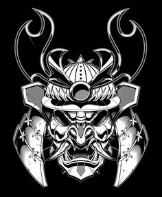 Little more details to go in the helmet but good enough to send off to the client for approval. Japanese Tattoo Art, Japanese Sleeve Tattoos, Japanese Art, Samurai Mask Tattoo, Samurai Helmet, Samurai Drawing, Samurai Artwork, Tattoo Drawings, Art Drawings