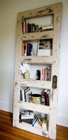 Door Type Book Shelf