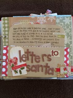 Rachel_B's World: **Journal your Christmas 2012!**