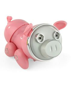 Take a look at this Pink Piggy Pig Dancing Speaker by HobbyTron on #zulily today!