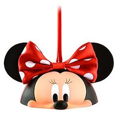Limited Edition Ear Hat Minnie Mouse Ornament  Love the entire set of these!!