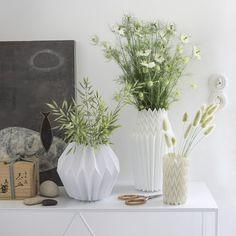 Créer des vases en origami Plus