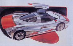 Jiotto Caspita 1989 Design-Sketch