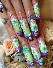 http://www.thefashionmuse.com/wp-content/uploads/2012/10/long-square-tip-green-purple-and-pink-japanese-nail-art-with-stick-on-flowers-and-diamantes.jpg