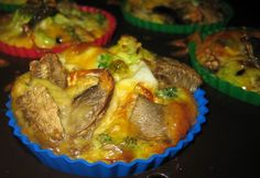 Healthy Breakfast Egg Casserole   wanted to make some healthy breakfast quiches/casseroles that were ...