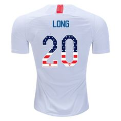 e2231e0f5 18 19 Men s Allie Long Home Jersey USA Independence Day Cheap