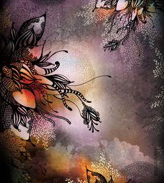 Purple Rain Giclee Print 11x14 by onesweetorange on Etsy (Iveta Abolina)