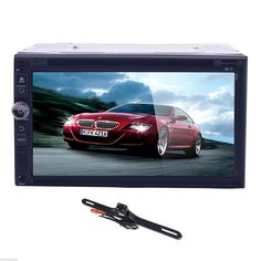 """TOCADO GPS Navigation Car Stereo Android 6.0 2DIN 7"""" In Dash DVD Player with Bluetooth GPS RDS Radio AV-IN + Backup Camera"""