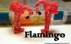 Rainbow Loom Pattern Designs : Animal Series - Tutorials and Photos.
