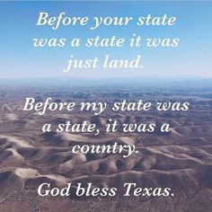 God Bless the Republic of Texas