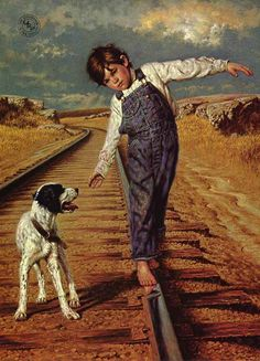 Walking the rails, Jim Daly
