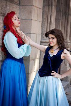 18 Sencillas maneras de convertirte en Ariel este Halloween