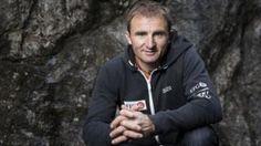 El escalador suizo Ueli Steck