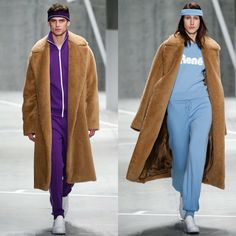 Lacoste Fall 2015 Ready-to-Wear Collection. Tennis suit and fur coat🔥