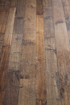 Hand scraped flooring creates a unique look. So unique, that it cannot be duplicated in a factory. Each board is scraped and/or distressed by skilled ...