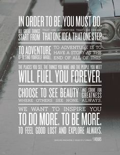 Do More, Be More