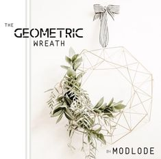 At Modlode we create modern, metallic decor for your special event. Bohemian Christmas, Modern Christmas, Beautiful Christmas, Merry Christmas, Xmas, Holiday Wreaths, Christmas Decorations, Church Decorations, Holiday Ideas