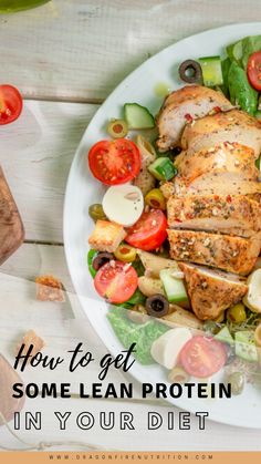 For long life eating you need to shoot for 1 serving of lean protein each day. Here are some great ideas to get some lean protein like Turkey and Chicken into your diet. Spicy Chicken Recipes, Healthy Crockpot Recipes, Healthy Snacks, Vegan Recipes, Salad Recipes, Dessert Recipes, Nutrition Tips, Health And Nutrition, Helathy Food
