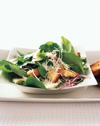 Spinach Caesar Salad Recipe on Food & Wine  -  For the full recipe, simply click on the photo.  ENJOY!