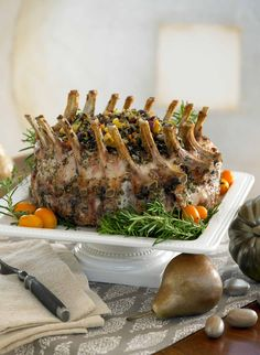 Garlic and Herb Pork Crown Roast
