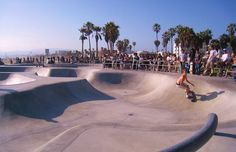 Traditional CA skate park. It's good, endless possibilities, attracts visitors. It's alright as there are some palm trees and the ocean next to it, but imagine this in the desert - it's Dune. It will be too hot, too.