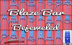 BLAZE BAR BEJEWELED -  swiss-paracord.ch