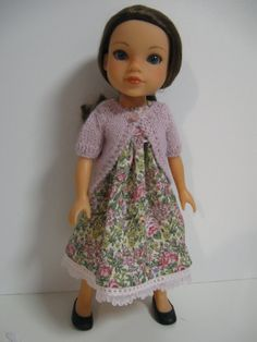 Hearts 4 Hearts Doll Clothes Romantic Floral by 123MULBERRYSTREET, $25.00