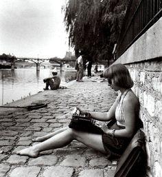 Predecessor//Paris-Plage.  Doisneau. 1947.