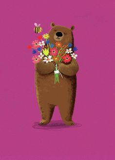 Jenny Wren - Pink Bear