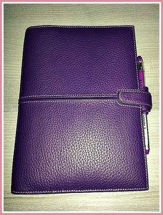 filofax finchley a5 in imperial purple / wish list