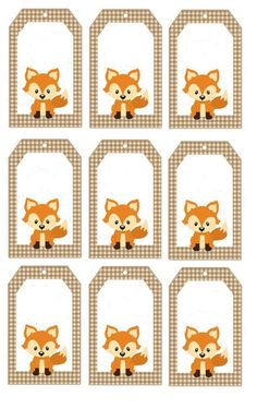 Fox Party, Baby Party, Animal Party, Wood Badge, Fox Decor, Theme Noel, Baby Shower Fun, Woodland Baby, Baby Birthday