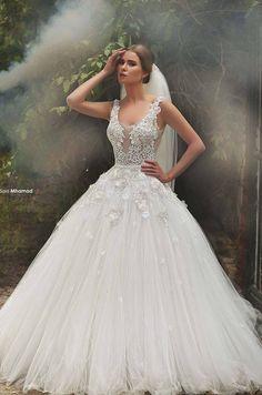 Sadek Majed Haute Couture   Dreamy 2015   Wedding dress, glam
