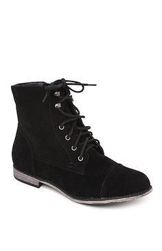 Lana Lace Up Black Boots