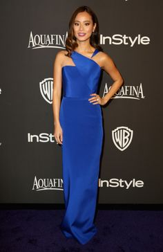 Actress Jamie Chung attends the 2015 InStyle And Warner Bros. 72nd Annual Golden Globe Awards Post-Party at The Beverly Hilton Hotel on January 11, 2015 in Beverly Hills, California.